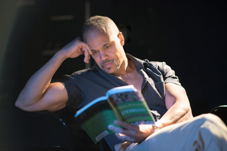 american moore reading on stage