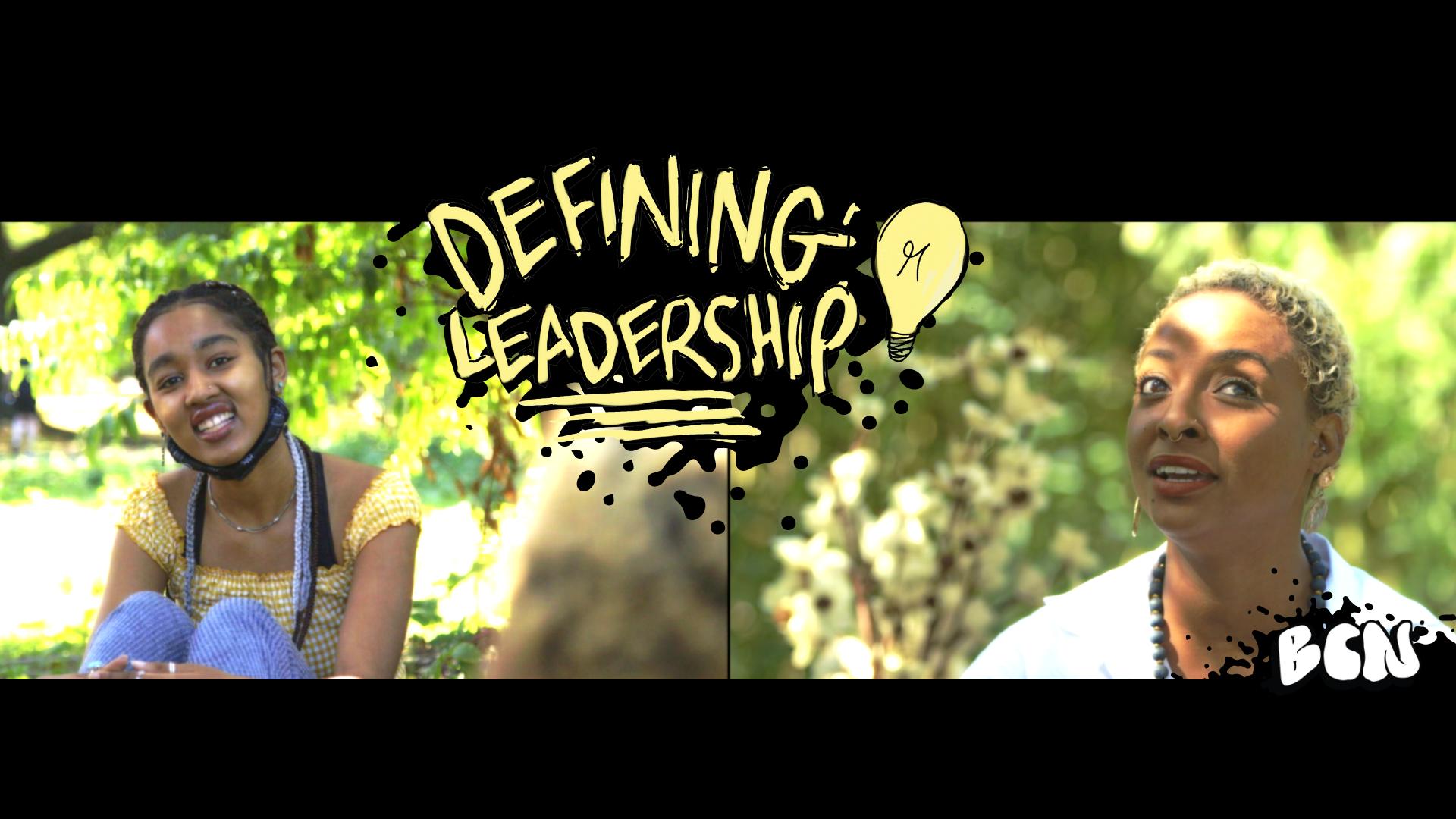 Defining Leadership Graphic